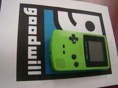 Gameboy color sour apple green CGB-001 #Nintendo