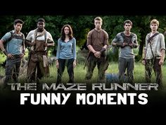The Maze Runner Cast Funny Moments - YouTube