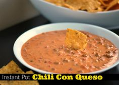 Instant Pot Chili Con Queso | Aunt Bee's Recipes