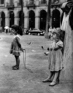 El Raval Barcelona Spain 1958  Photo: Joan Colom