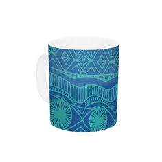 Beach Blanket Confusion by Catherine Holcombe 11 oz. Ceramic Coffee Mug