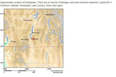 Earthquake with 4.1 magnitude shakes south Okanagan
