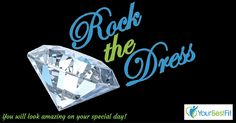 Help us reach 100 followers on Instagram! FOLLOW rock_the_dress.