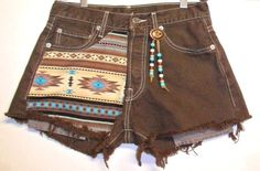 Vintage Levis 501 Brown  Denim Shorts by Turnupthevolume on Etsy, $45.00