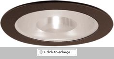 """4"""" Shower Trim with Reflector and Frosted Pinhole Glass  Lamp: 40W A19, 50W PAR20, R20    Dimension: 4 3/4"""" O.D.  Regular price: $37.25  Sale price: $20.90"""