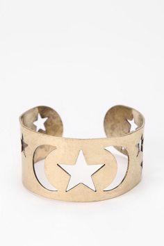 Moonstars Cuff Bracelet