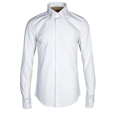 Men shirts High quality 80% cotton long sleeve elegant embroidery slim fit casual shirt Chemise Homme tops plus size M-4XL #Affiliate