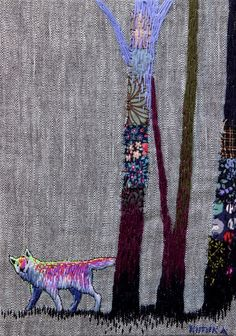 Embroidery patchwork animals - find all the materials you will need here http://shop.vibesandscribes.ie/