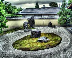 Ryogen-in Zen Garden #  zen garden