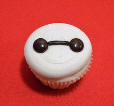"""Big Hero 6"" inspired Baymax Cupcake"