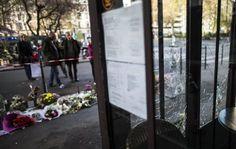 Café alvo de ataques em Paris reabrirá no dia 4 de dezembro. (foto: EPA)