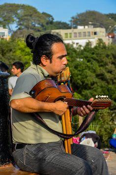 Street Music in Barranco, Lima, Peru - by Chris Taylor