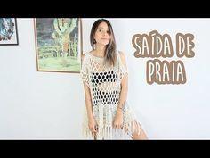 SAÍDA DE PRAIA RÁPIDA E ECONÔMICA - Crochê (with english subtitles) - YouTube