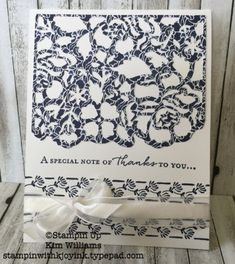Stampin' Up! Floral Phrases Card Ideas