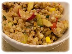 Pohankový salát Risotto, Ethnic Recipes, Food, Eten, Meals, Diet