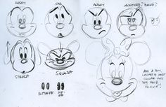 Cartoon Drawing Techniques drawing disney mickey mouse how to mickey tutorial steve thompson how to draw Disney Sketches, Disney Drawings, Cartoon Drawings, Easy Drawings, Drawing Disney, Disney Concept Art, Disney Art, Walt Disney, Disney Mickey