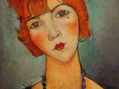 Amedeo Modigliani  for more Amedeo Modigliani oil paintings please visit http://www.painting-in-oil.com/artworks-Modigliani-Amedeo.html