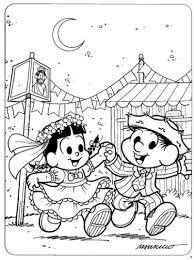 Resultado de imagem para painel de festa junina para colorir