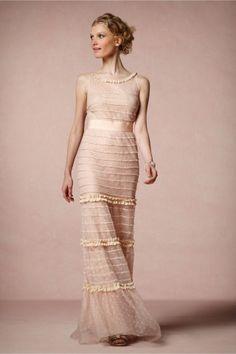 Perfect pink wedding dress!