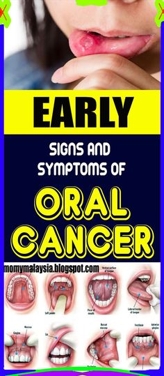Early Signs of Cancer !