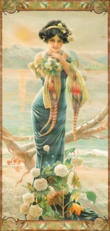 Evening Hydrangea 1904  GASPAR CAMPS (1874-1942)
