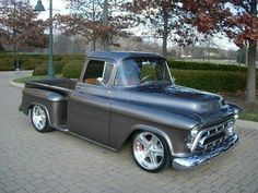 Sexy gray truck