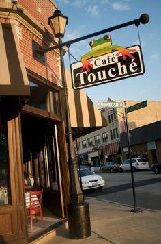 Cafe Touche- Edison Park-gotta get the parmesan truffle fries!