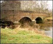 The bridge at Otterton