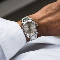 Watches Classics & Sport — bexsonn: The Datejust 41 in Steel