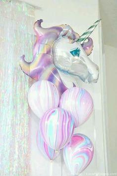 Globos de unicornio!