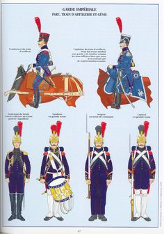 Treno di artiglieria e genio della guardia imperiale francese
