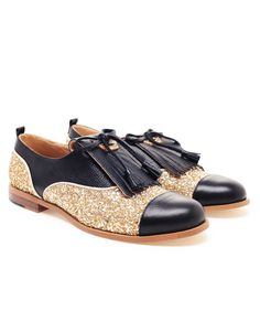 Glitter Oxfords Shoes Shop the best handmade shoes at http://www.tuccipolo.com