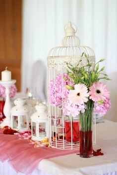 Centro de Mesa/ Wedding Table Decoration