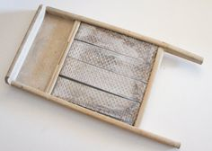 Vintage Antique Shabby Chic WashBoard by SycamoreVintage on Etsy, $34.99