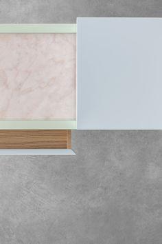 Flamingo (MARCO GUAZZINI) steel+marble+wood