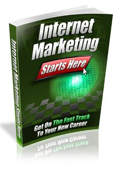 Internet Marketing Starts HereWill Teach You... Which Aspect Of Internet Marketing You Can Do Successfully! How To Avoid The Common Pitfalls So You Can See A Profit Right Away! What The Secret Is That Will Let You Jump Past The First Couple Months Of L...