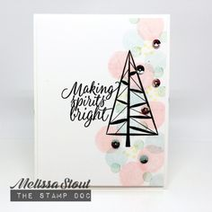 Stampin' UP! Twinkle Trees and Tin of Tags by Melissa Stout