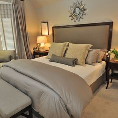 Contemporary Bedroom Design, Pictures, Remodel, Decor and Ideas - page 81 (cover hopeless with foam top)