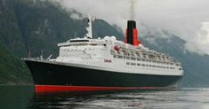 This is the QE2, the ship I went over to Southhampton on.  The Queen's Suite on the signal deck!  Talk about luxury!  Cunard is the only line to cruise in my opinion.