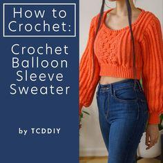 Crochet Box Stitch, Lightweight Cardigan, Crop Tops, Tank Tops, Lana, Pullover, Sweaters, Shopping, Youtube