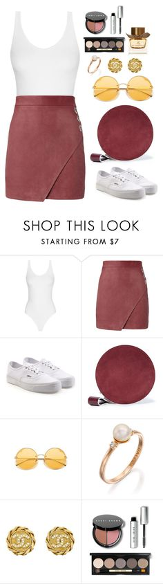 """Untitled #584"" by alibasicamina ❤ liked on Polyvore featuring Michelle Mason, Vans, Diane Von Furstenberg, Chanel, Bobbi Brown Cosmetics and Burberry"