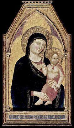 Jacopo del Casentino - Madonna e Bambino - Collezione Privata