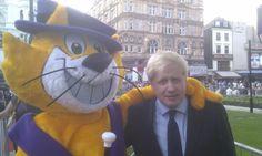 Top Cat meets Boris Johnson