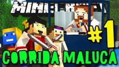 CORRIDA MALUCA! - VOU SER O CAMPEÃO!! - #1 - Minecraft