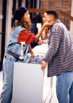 Tyra Banks on The Fresh Prince of Bel-Air; Aug. 31, 1993 - MarieClaire.com