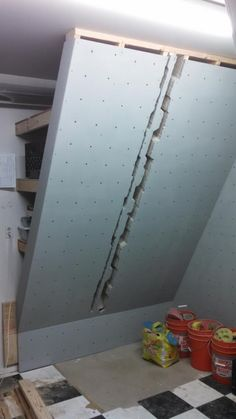Forum: (Now Done! With Pix) Designing a Bouldering Wall. Would love feedback