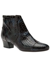 LANVIN - chunky heel ankle boot