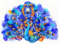 Hey, I found this really awesome Etsy listing at https://www.etsy.com/listing/156725993/free-shipping-peacock-in-sapphire-and