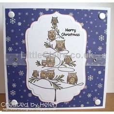 Christmas Owl Tree