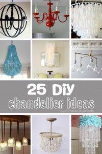 25 DIY Chandelier Ideas